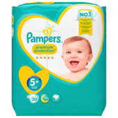 Pampers Premium Protection Gr.5+ Junior Plus12-17kg 20 Stück