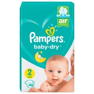 Pampers Baby Dry Mini SP Gr. 2 Sparpack 46 Stück