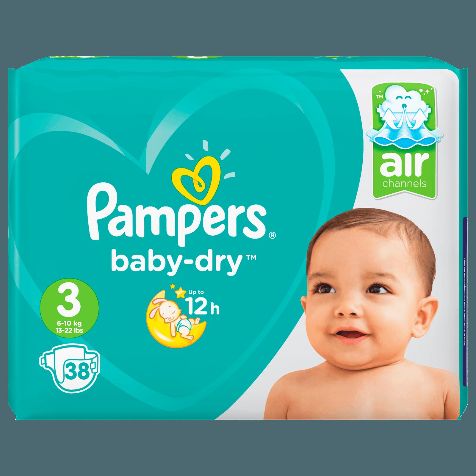 Pampers Baby Dry Midi Gr. 3 Sparpack 38 Stück