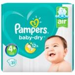 Pampers Baby Dry Gr.4+ Maxi Plus 10-15kg Sparpack 31 Stück