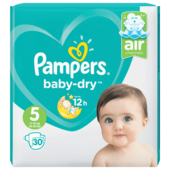 Pampers Baby Dry Gr.5 Junior 11-16kg Sparpack 30 Stück