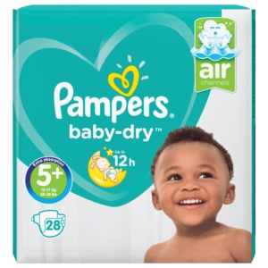 Pampers Baby Dry Junior Gr. 5+ 28 Stück