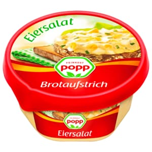 Popp Brotaufstrich Eiersalat 150g