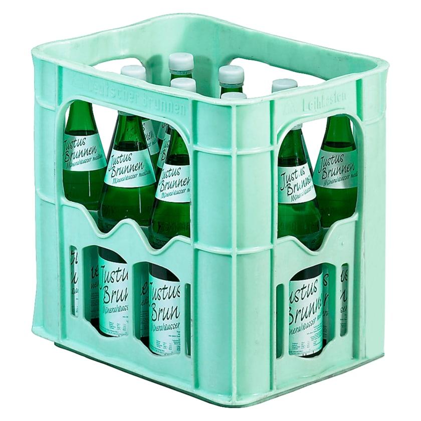 Justus Brunnen Mineralwasser Medium 12x0,7l