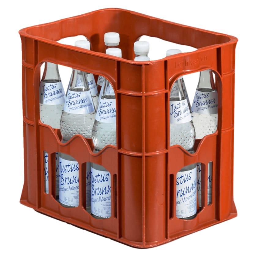 Justus-Brunnen Mineralwasser Spritzig 12x0,7l