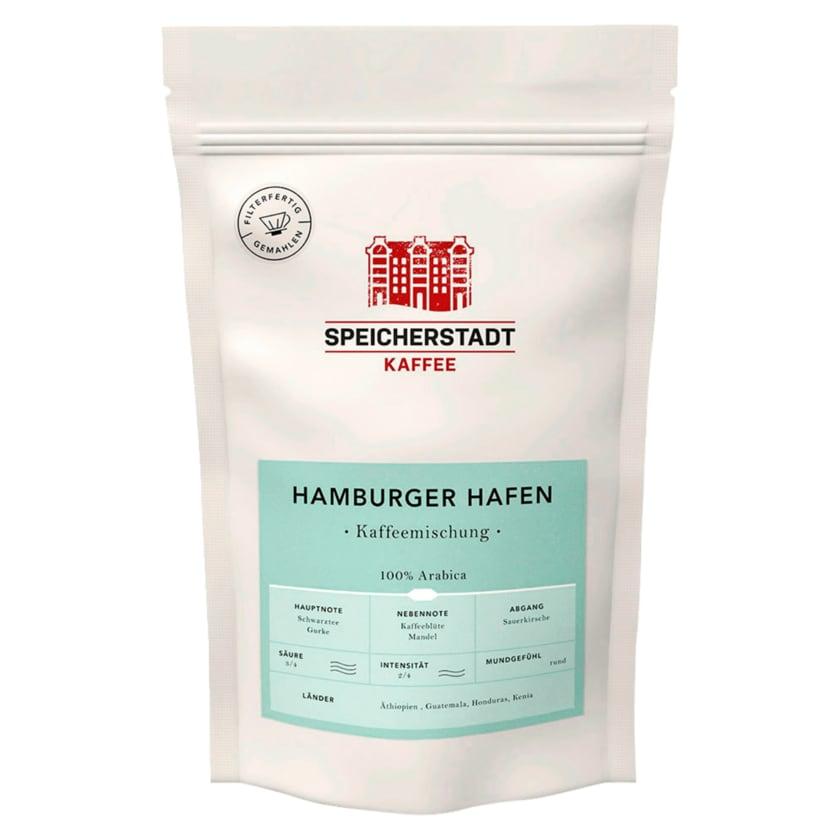 Speicherstadt Kaffee Hamburger Hafen Kaffeemischung 250g