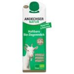 Andechser Bio H-Ziegenmilch 3% 1l