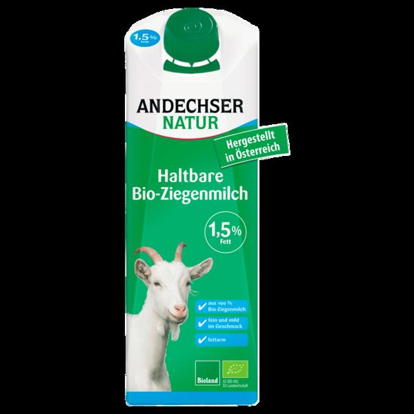 Andechser Natur Bio H-Ziegenmilch 1,5% 1l