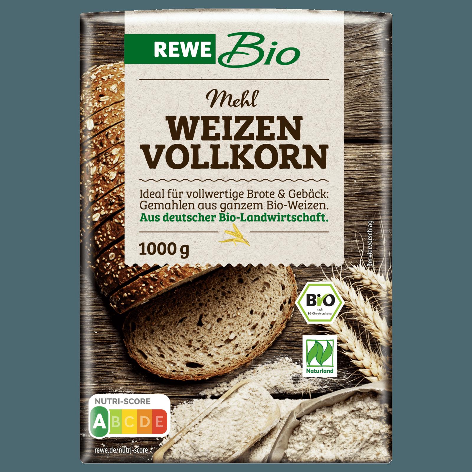 Rewe Bio Weizen Vollkornmehl 1kg Bei Rewe Online Bestellen
