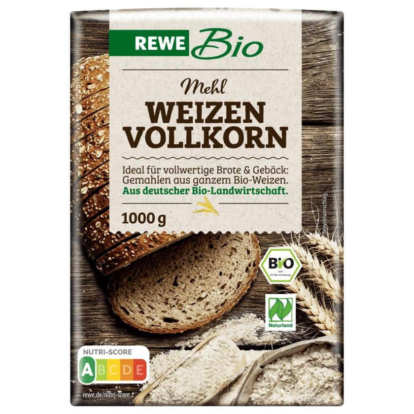 REWE Bio Weizen-Vollkornmehl 1kg