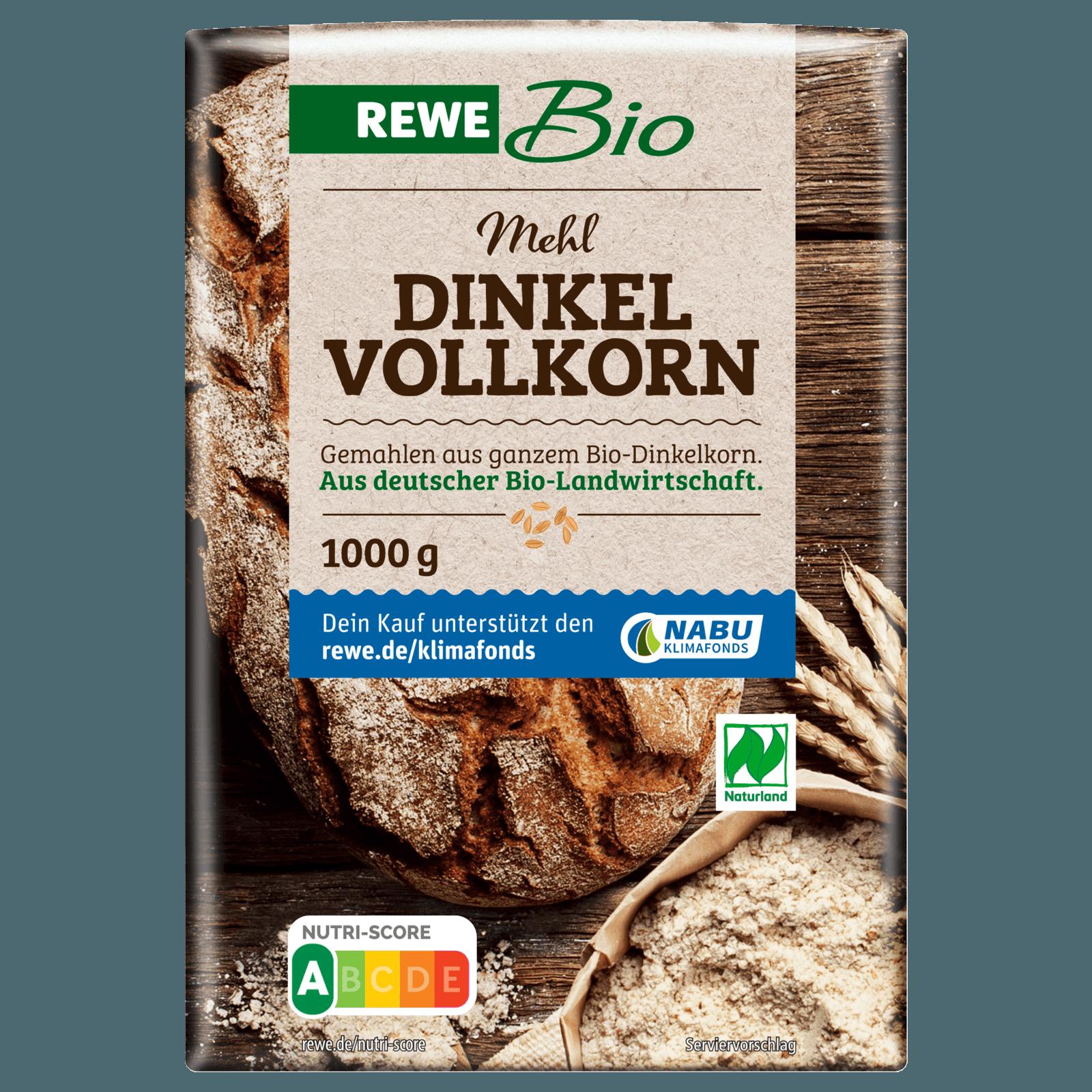 Rewe Bio Dinkel Vollkornmehl 1kg Bei Rewe Online Bestellen