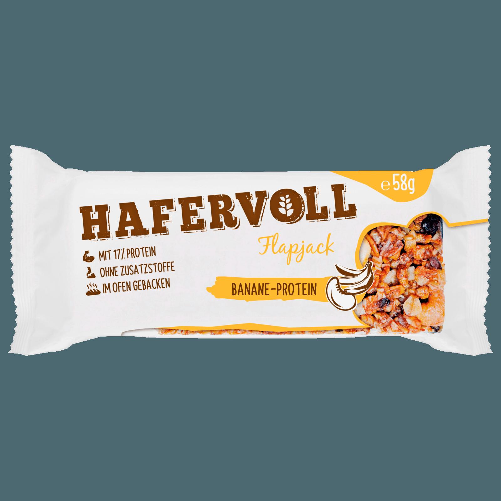 Hafervoll Banane Protein Riegel 65g