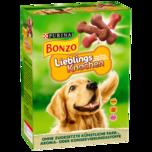 Purina Hundefutter Bonzo Kleine Lieblingsknochen 500g