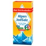 Bad Reichenhaller Jodsalz mit Fluorid+Folsäure 500g