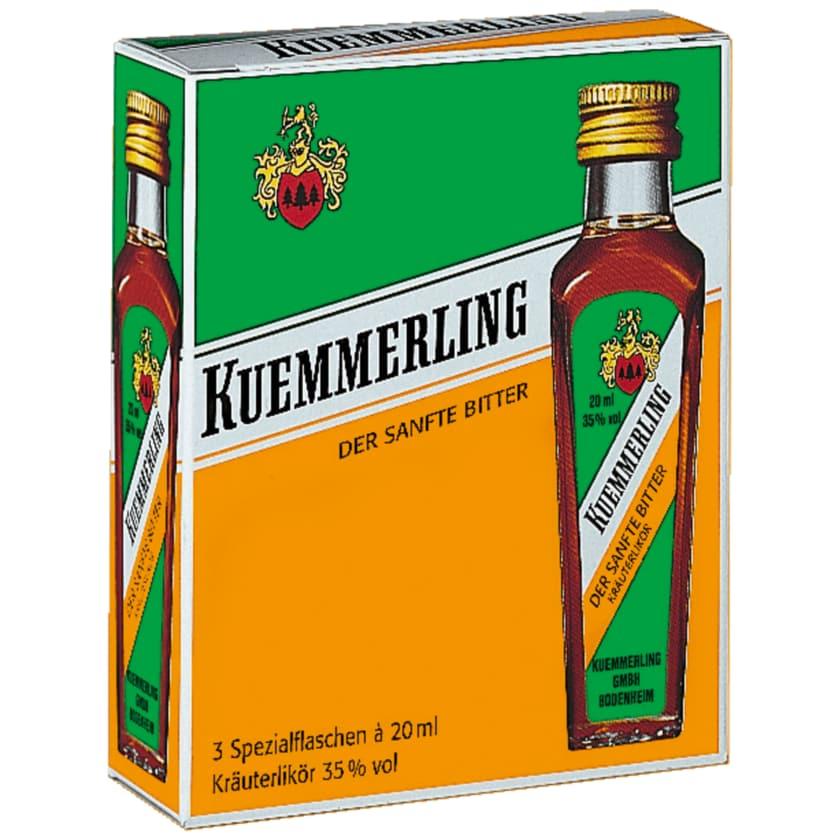 Kuemmerling Kräuterlikör 3x0,02l