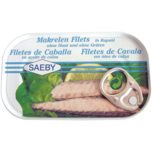Saeby Makrelen-Filets in Rapsöl 88g