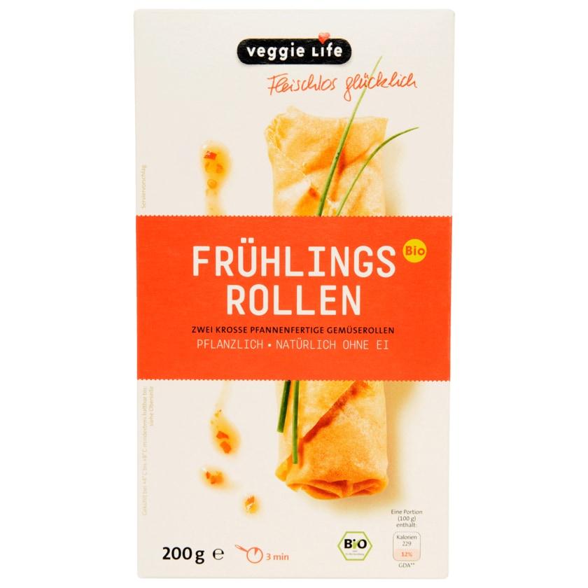 Veggie Life Bio Frühlingsrollen 200g