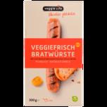 Veggie Life Veggiefrisch Bratwürste 300g