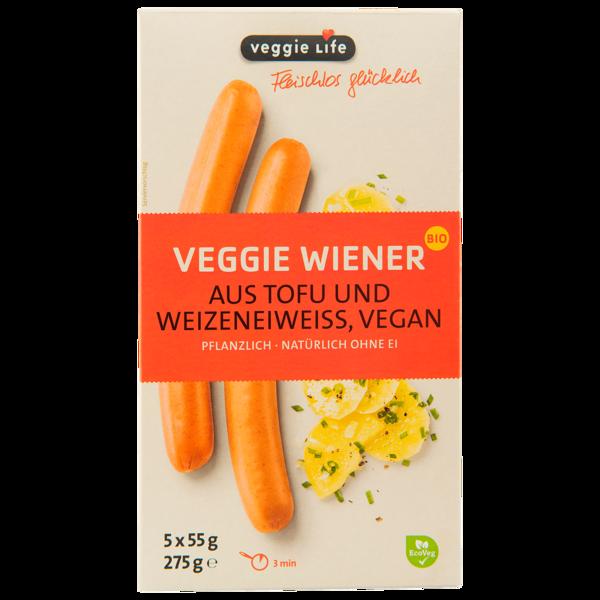 Veggie Life Veggie-Wiener Bio 275g
