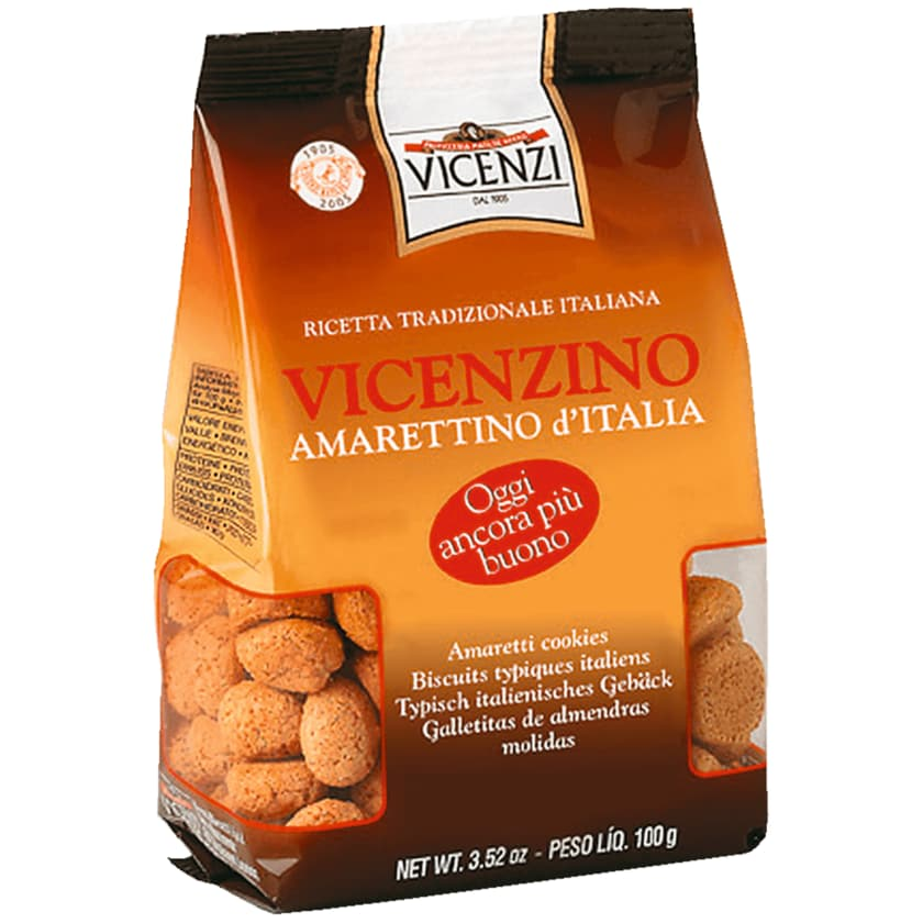 Vicenzi Vicenzino Amarettino d'Italia 100g