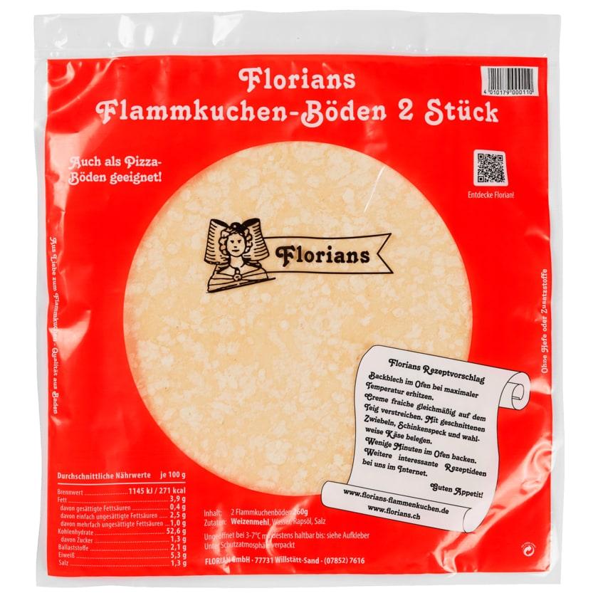Florian's Flammkuchen-Böden rund 2 x 130 g