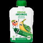 Erdbär Freche Freunde Apfel, Banane, Spinat 100g