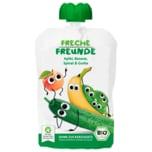 Erdbär Freche Freunde Bio Apfel, Banane, Spinat 100g