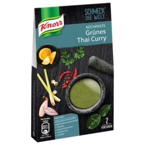 Knorr Kochpaste Thai Green Curry 57g