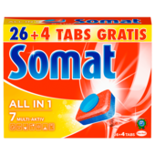Somat 7 all in 1 540g, 26+4 Tabs