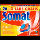 Somat 7 all in 1 540g, 26+4 Tabs