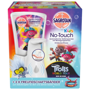 Sagrotan No Touch Kids Seifenspender Starter Set