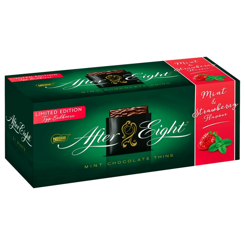 After Eight Pralinen Mint & Strawberry Flavour 200g