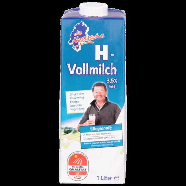 Die Hessische H-Vollmilch 3,5% 1l