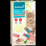 ZooRoyal Katzen-Schleckies mit Leberwurst 8x15g