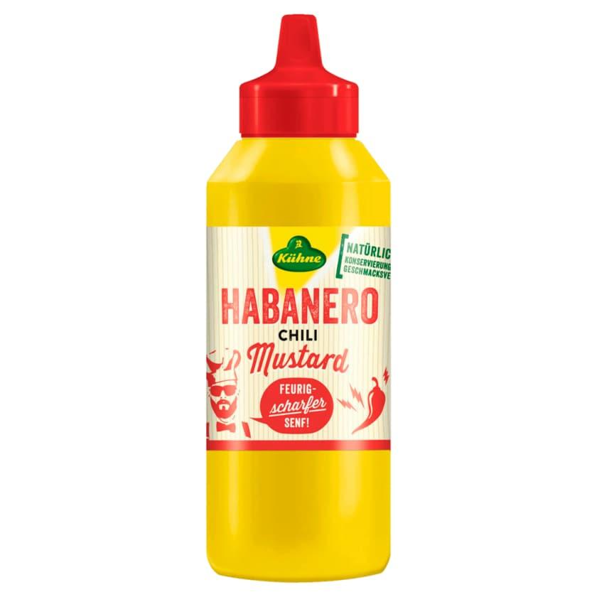 Kühne Habanero Chili Mustard 250ml
