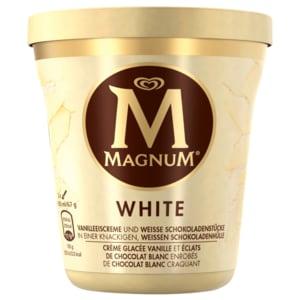 Magnum White Becher Eis 440ml