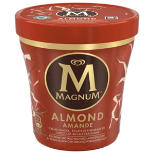 Magnum Mandel Becher Eis 440ml
