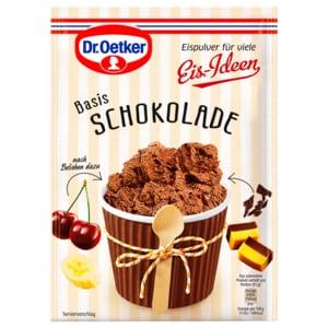 Dr. Oetker Eispulver Schokolade 116g