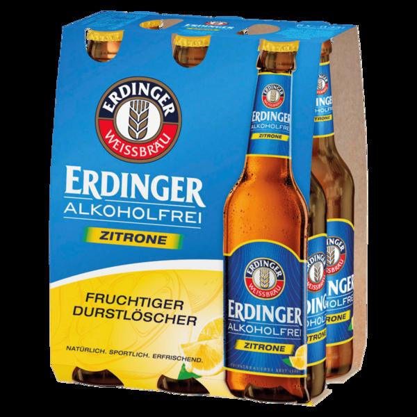 Erdinger alkoholfrei Zitrone 6x0,33l