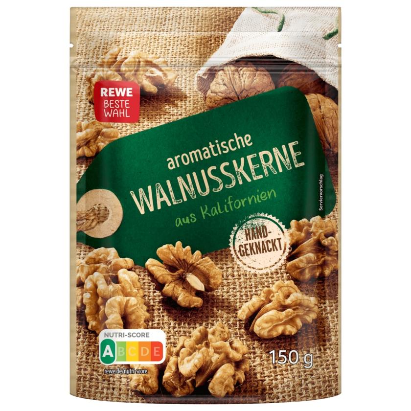REWE Beste Wahl aromatische Walnüsse 150g