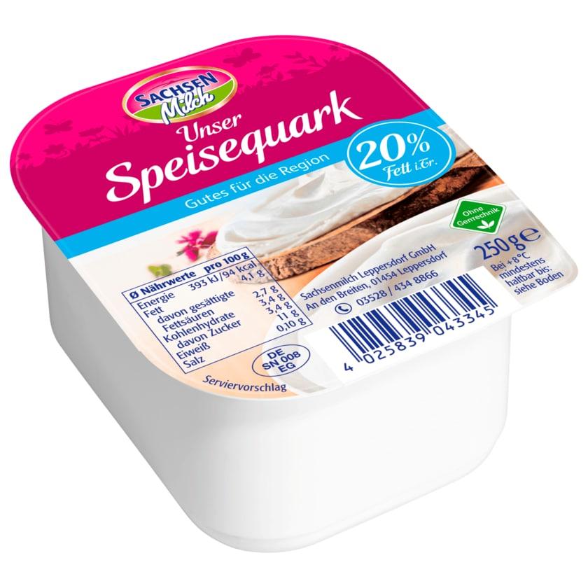 Sachsenmilch Speisequark 20% 250g