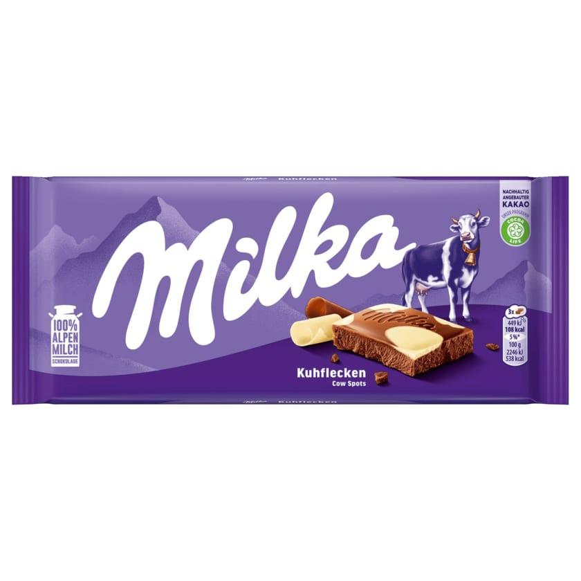 Milka Schokolade Kuhflecken 100g