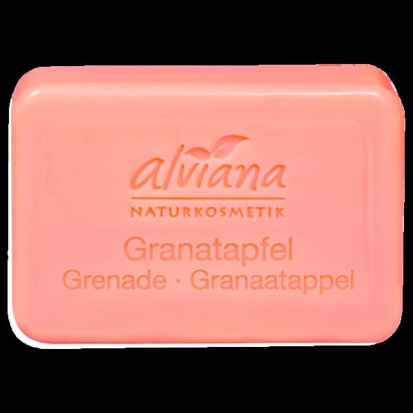 Alviana Stückseife Granatapfel 100g