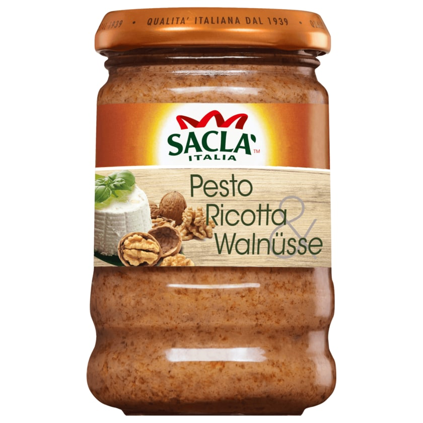 Saclà Pesto Ricotta & Walnuss 190g