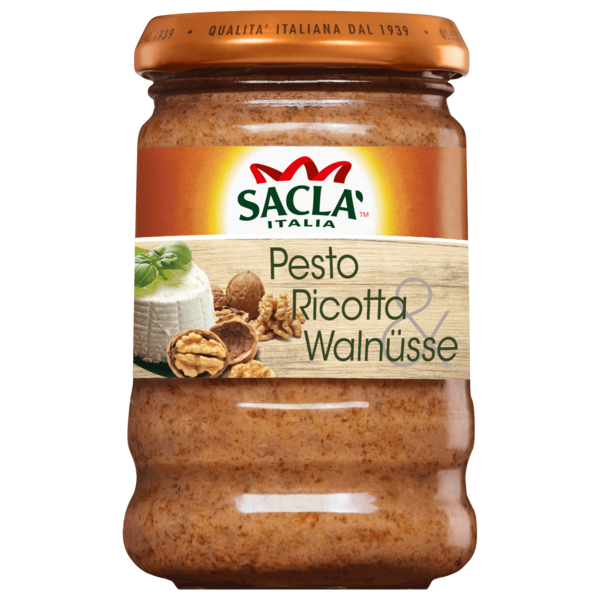 Saclà Pesto Ricotta & Walnuss 190g