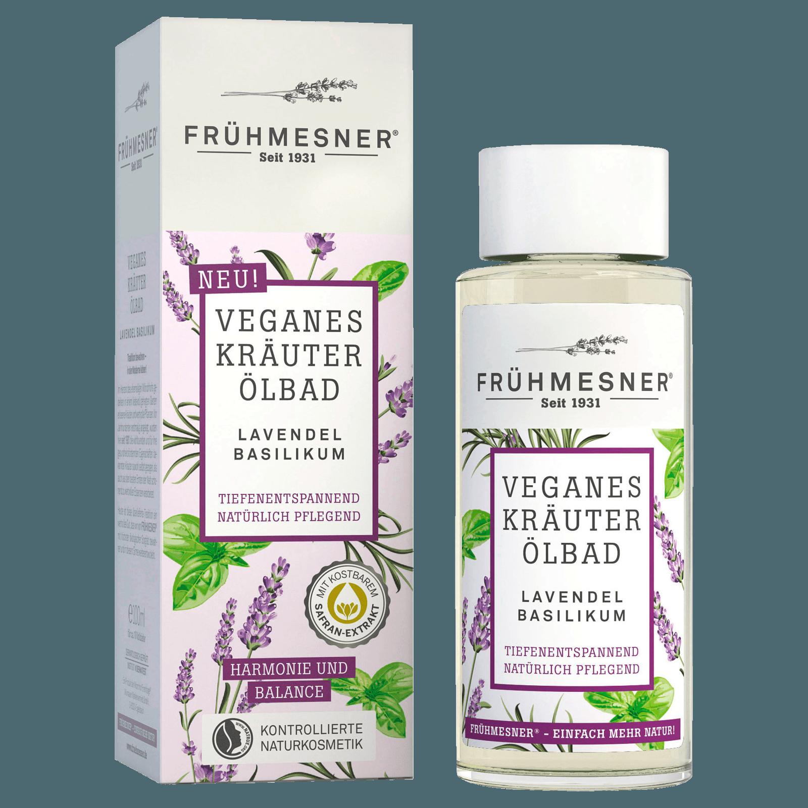 Frühmesner Ölbad Lavendel Basilikum 100ml
