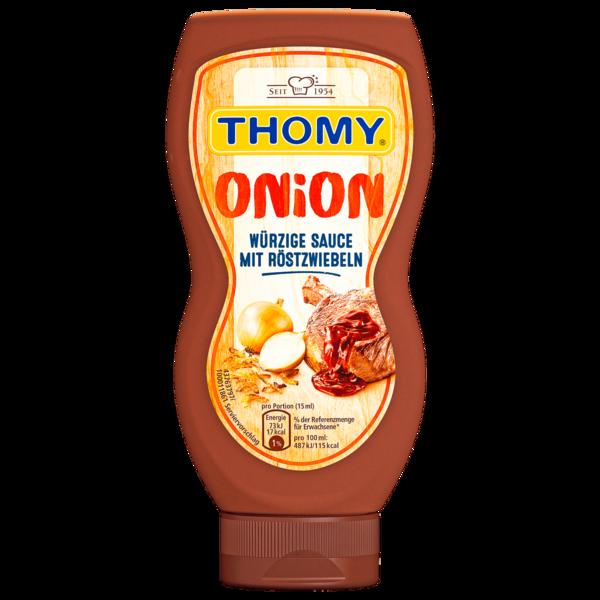Thomy Onion Würzige Sauce mit Röstzwiebeln 230ml