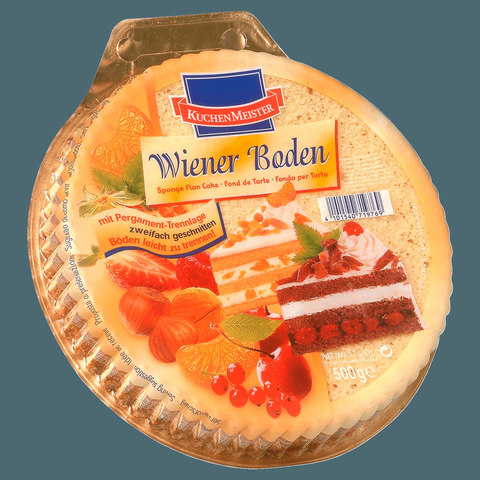 Kuchenmeister Wiener Boden Hell 500g