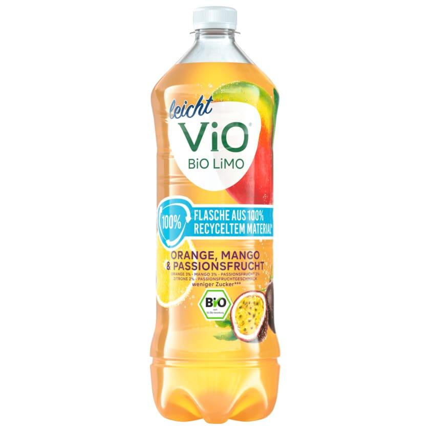 Vio Bio Limo leicht Orange-Mango-Passionsfrucht 1l