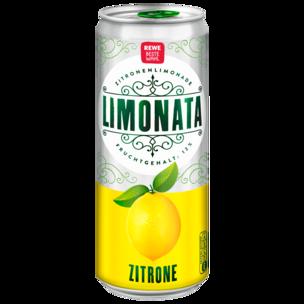 REWE Beste Wahl Limonata Zitrone 0,33l